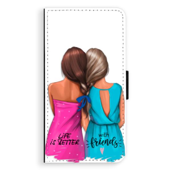 Flipové puzdro iSaprio - Best Friends - Sony Xperia XZ
