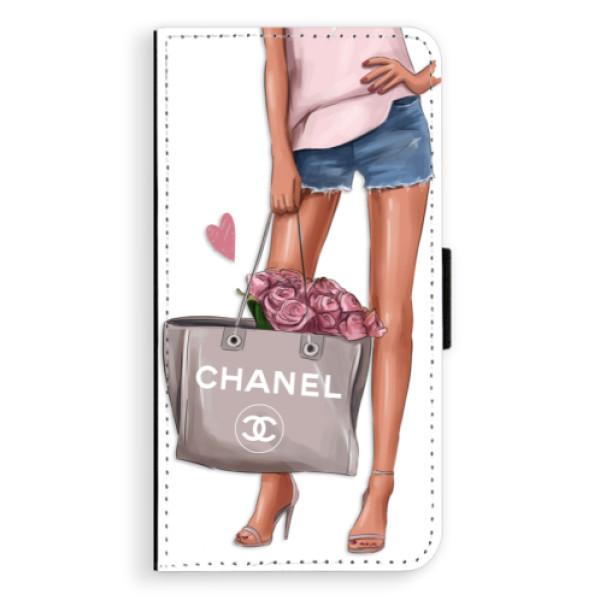 Flipové puzdro iSaprio - Fashion Bag - Sony Xperia XZ