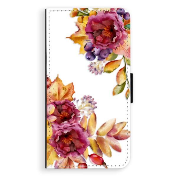 Flipové puzdro iSaprio - Fall Flowers - Sony Xperia XZ
