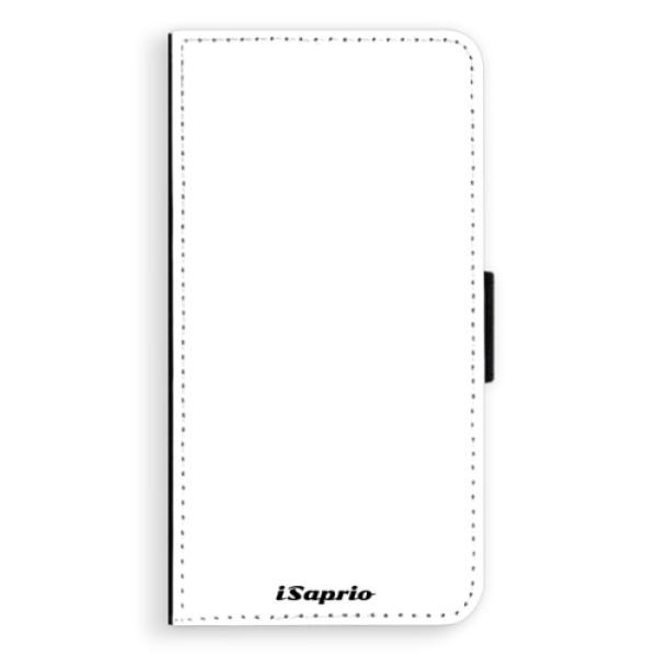 Flipové puzdro iSaprio - 4Pure - bílý - Sony Xperia XZ