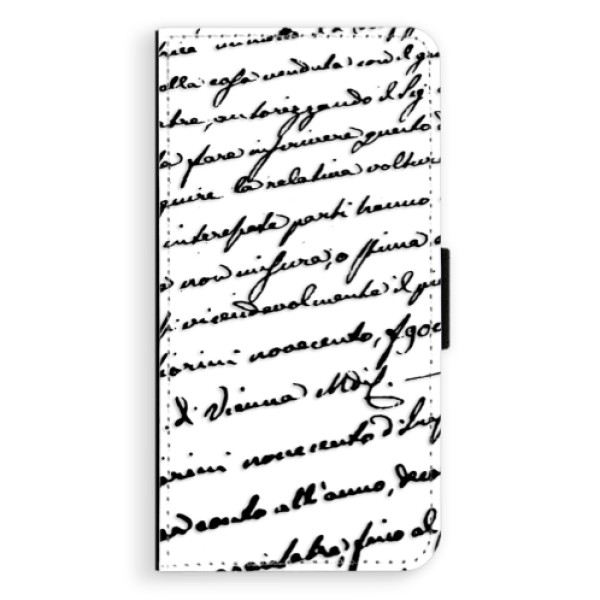 Flipové puzdro iSaprio - Handwriting 01 - black - Nokia 6