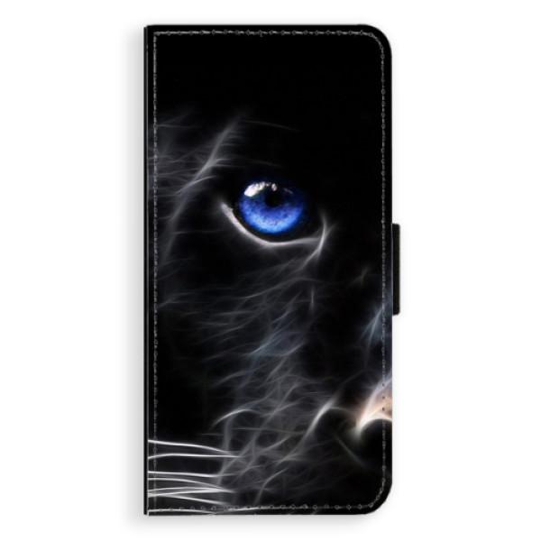 Flipové puzdro iSaprio - Black Puma - Huawei Ascend P8