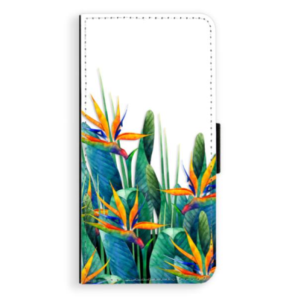 Flipové puzdro iSaprio - Exotic Flowers - Huawei Ascend P8