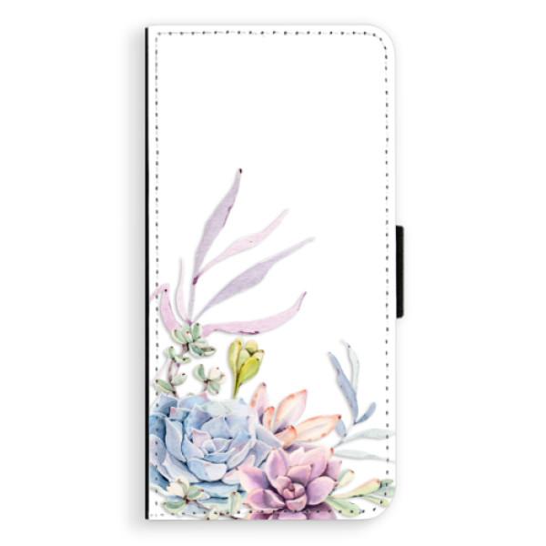 Flipové puzdro iSaprio - Succulent 01 - Huawei Ascend P8
