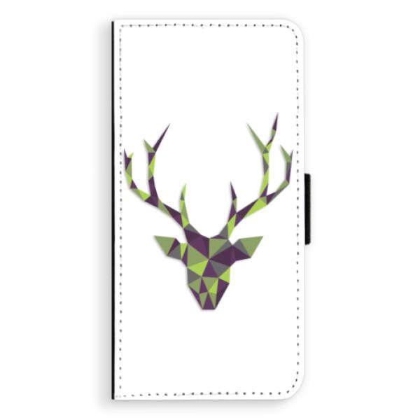 Flipové puzdro iSaprio - Deer Green - Huawei Ascend P8