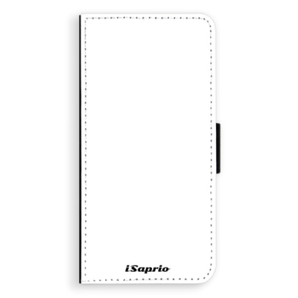 Flipové puzdro iSaprio - 4Pure - bílý - Huawei Ascend P8