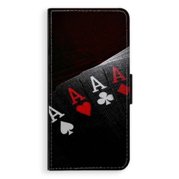 Flipové puzdro iSaprio - Poker - Huawei Ascend P8