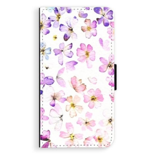 Flipové puzdro iSaprio - Wildflowers - Huawei P10 Plus