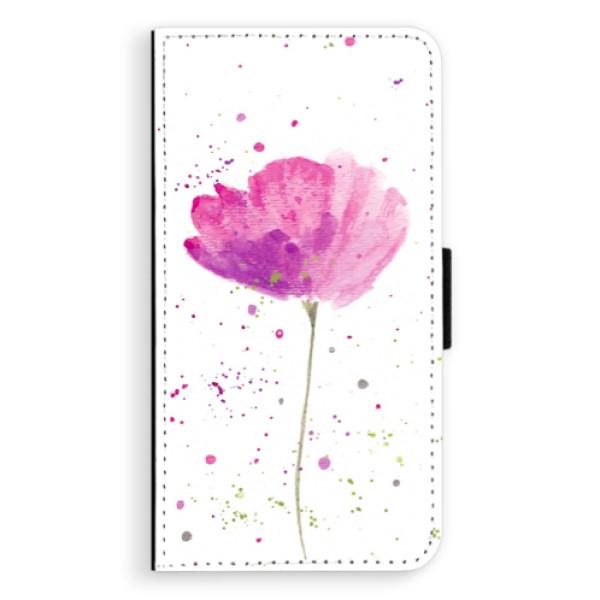 Flipové puzdro iSaprio - Poppies - Huawei P10 Plus