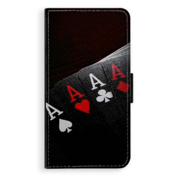 Flipové puzdro iSaprio - Poker - Huawei P10 Plus
