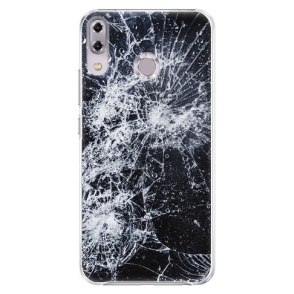 Plastové puzdro iSaprio - Cracked - Asus ZenFone 5Z ZS620KL