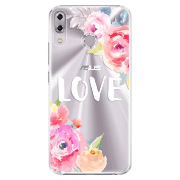 Plastové puzdro iSaprio - Love - Asus ZenFone 5Z ZS620KL