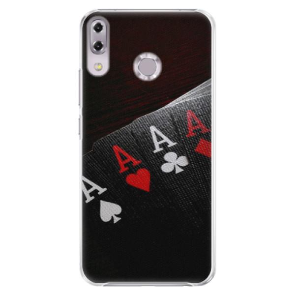 Plastové puzdro iSaprio - Poker - Asus ZenFone 5Z ZS620KL