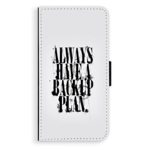 Flipové puzdro iSaprio - Backup Plan - Huawei P9 Lite Mini