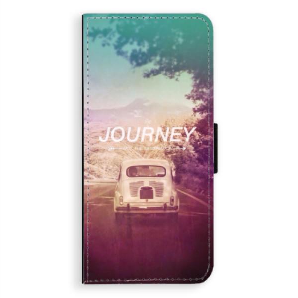 Flipové puzdro iSaprio - Journey - Samsung Galaxy A8 Plus