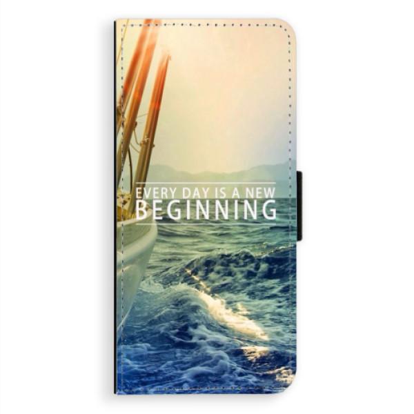 Flipové puzdro iSaprio - Beginning - Samsung Galaxy A8 Plus