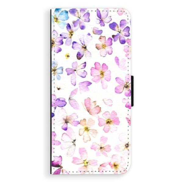 Flipové puzdro iSaprio - Wildflowers - Samsung Galaxy A8 Plus