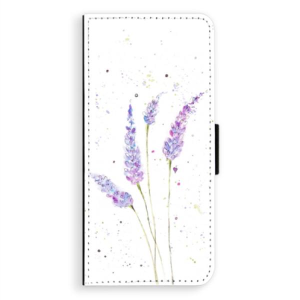 Flipové puzdro iSaprio - Lavender - Samsung Galaxy A8 Plus