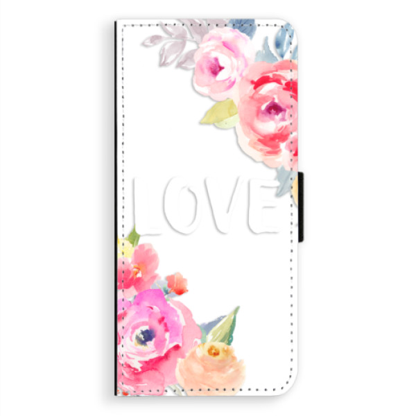 Flipové puzdro iSaprio - Love - Samsung Galaxy A8 Plus