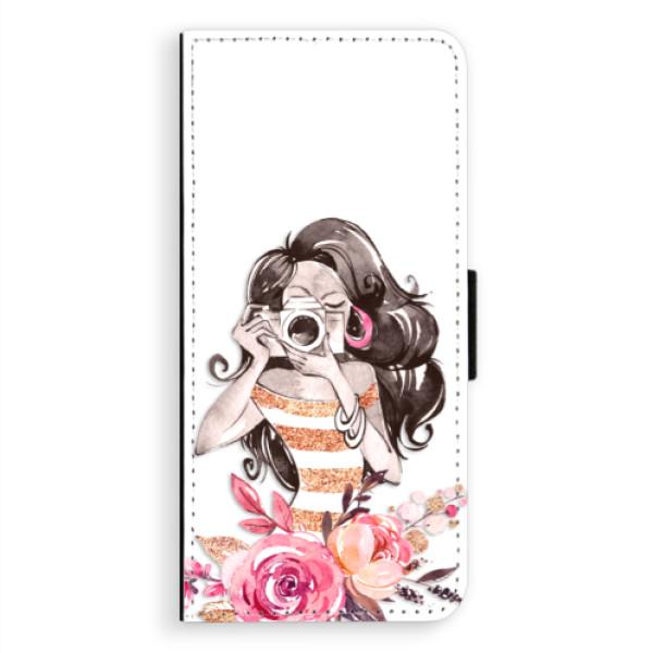 Flipové puzdro iSaprio - Charming - Samsung Galaxy A8 Plus