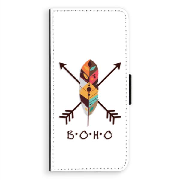 Flipové puzdro iSaprio - BOHO - Samsung Galaxy A8 Plus