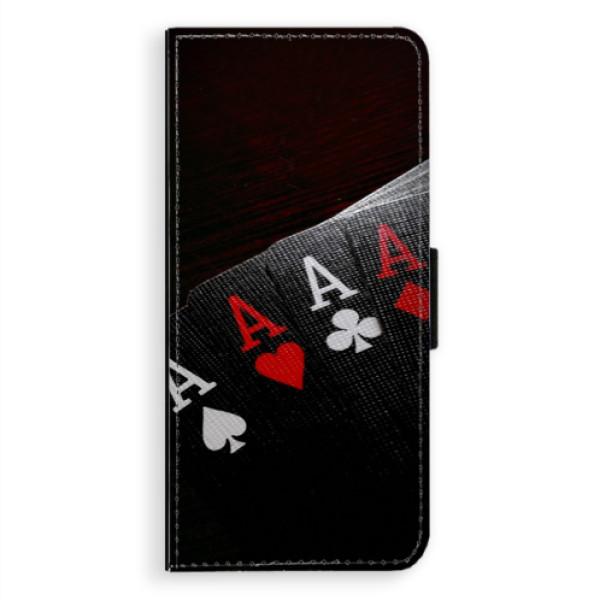 Flipové puzdro iSaprio - Poker - Samsung Galaxy A8 Plus