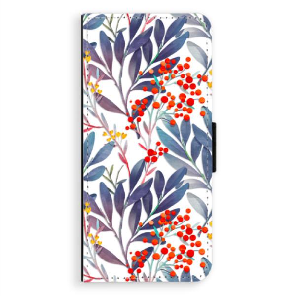 Flipové puzdro iSaprio - Rowanberry - Samsung Galaxy A8 Plus