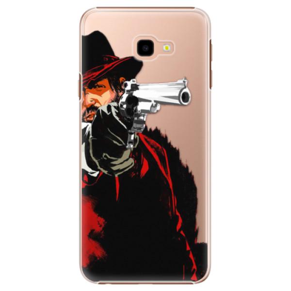 Plastové puzdro iSaprio - Red Sheriff - Samsung Galaxy J4+