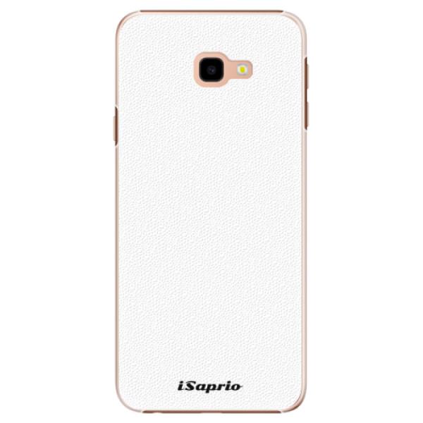 Plastové puzdro iSaprio - 4Pure - bílý - Samsung Galaxy J4+