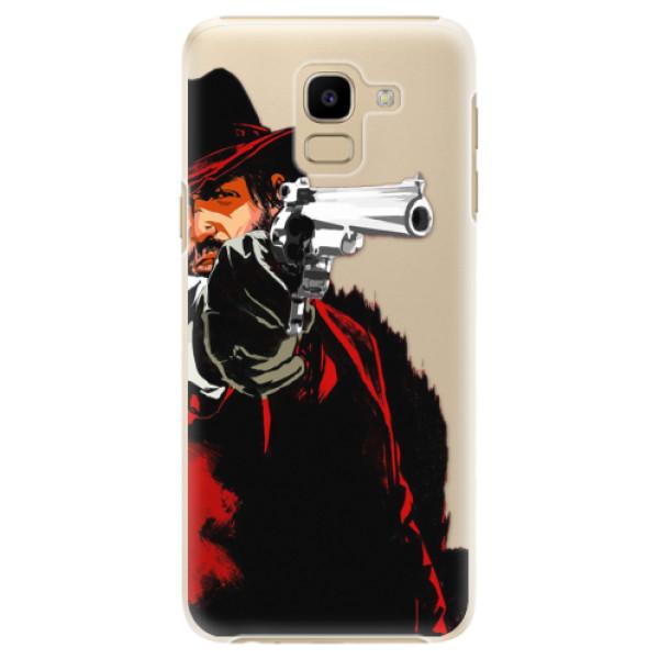 Plastové puzdro iSaprio - Red Sheriff - Samsung Galaxy J6