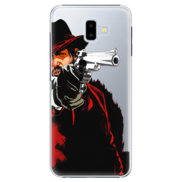 Plastové puzdro iSaprio - Red Sheriff - Samsung Galaxy J6+