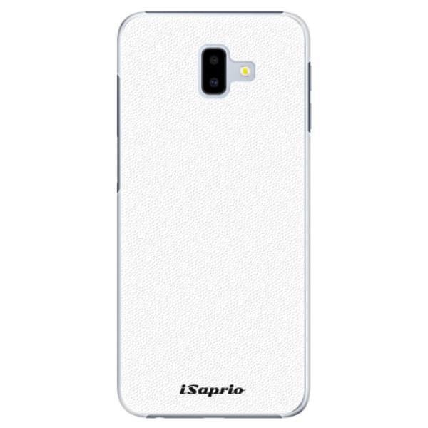 Plastové puzdro iSaprio - 4Pure - bílý - Samsung Galaxy J6+