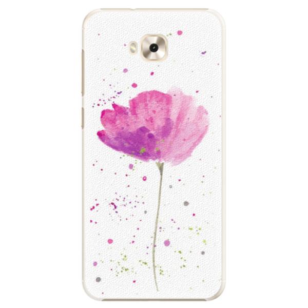 Plastové puzdro iSaprio - Poppies - Asus ZenFone 4 Selfie ZD553KL
