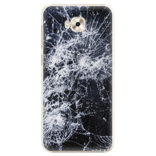 Plastové puzdro iSaprio - Cracked - Asus ZenFone 4 Selfie ZD553KL
