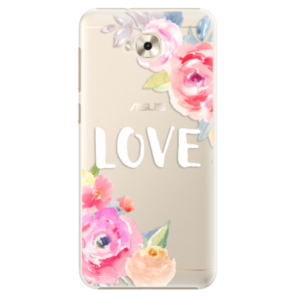 Plastové puzdro iSaprio - Love - Asus ZenFone 4 Selfie ZD553KL