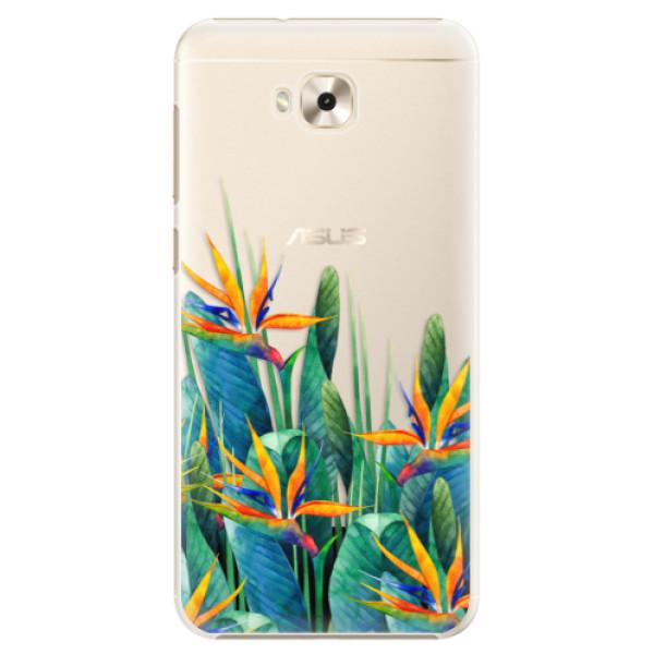 Plastové puzdro iSaprio - Exotic Flowers - Asus ZenFone 4 Selfie ZD553KL