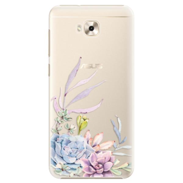 Plastové puzdro iSaprio - Succulent 01 - Asus ZenFone 4 Selfie ZD553KL