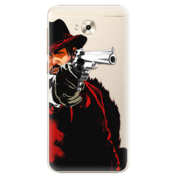 Plastové puzdro iSaprio - Red Sheriff - Asus ZenFone 4 Selfie ZD553KL