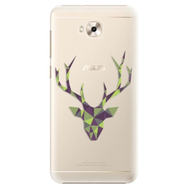 Plastové puzdro iSaprio - Deer Green - Asus ZenFone 4 Selfie ZD553KL