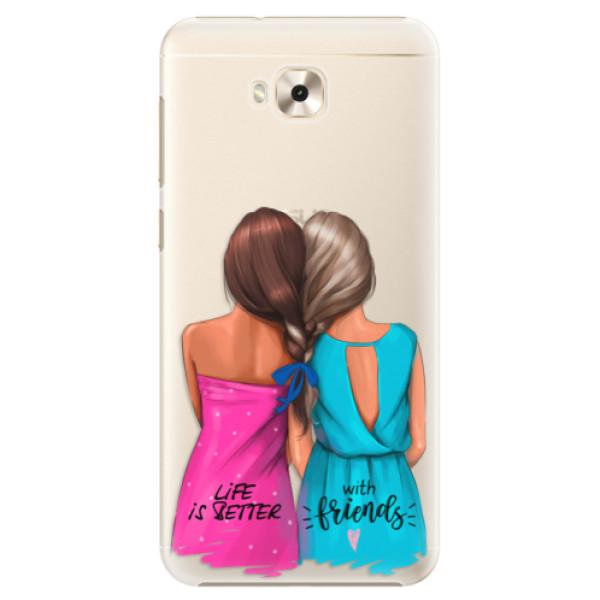 Plastové puzdro iSaprio - Best Friends - Asus ZenFone 4 Selfie ZD553KL