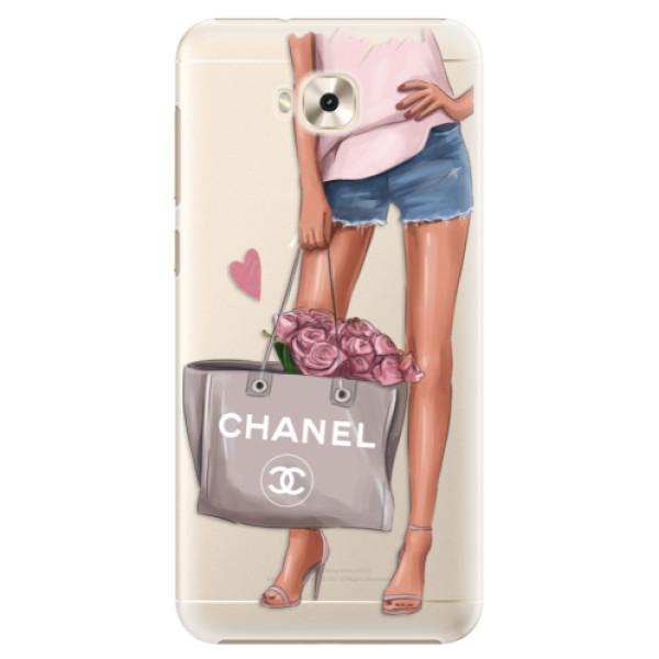 Plastové puzdro iSaprio - Fashion Bag - Asus ZenFone 4 Selfie ZD553KL