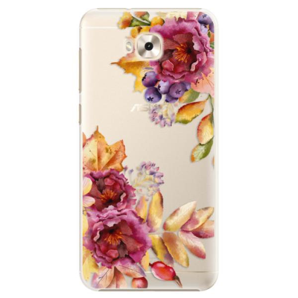 Plastové puzdro iSaprio - Fall Flowers - Asus ZenFone 4 Selfie ZD553KL