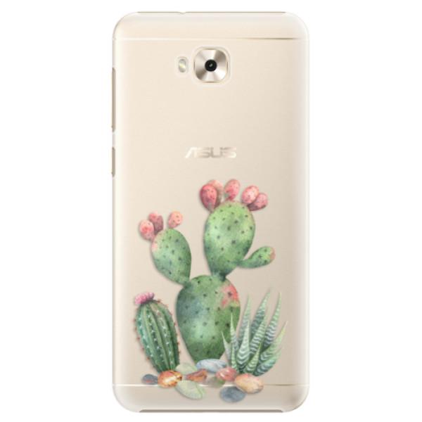 Plastové puzdro iSaprio - Cacti 01 - Asus ZenFone 4 Selfie ZD553KL