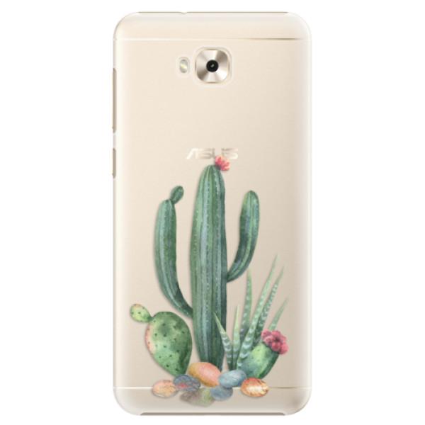 Plastové puzdro iSaprio - Cacti 02 - Asus ZenFone 4 Selfie ZD553KL