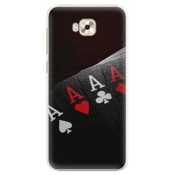 Plastové puzdro iSaprio - Poker - Asus ZenFone 4 Selfie ZD553KL