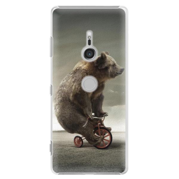 Plastové puzdro iSaprio - Bear 01 - Sony Xperia XZ3