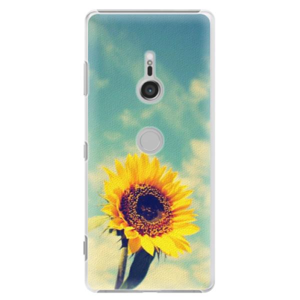 Plastové puzdro iSaprio - Sunflower 01 - Sony Xperia XZ3