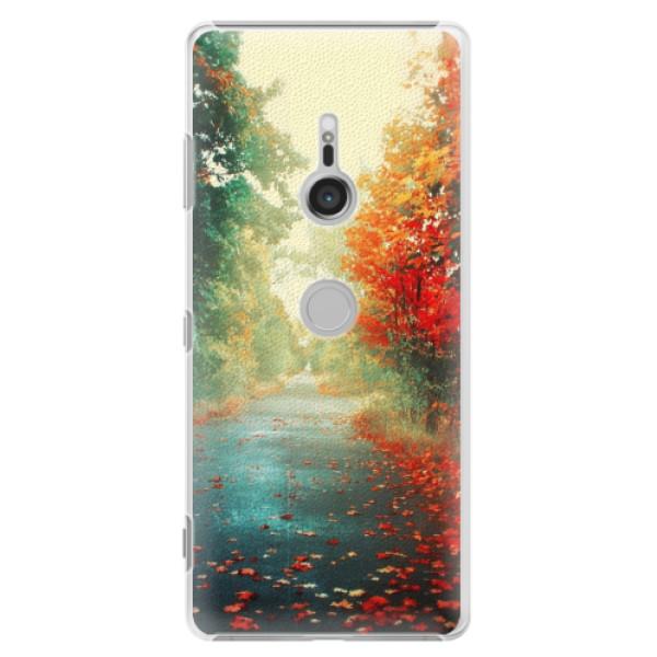 Plastové puzdro iSaprio - Autumn 03 - Sony Xperia XZ3