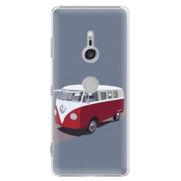 Plastové puzdro iSaprio - VW Bus - Sony Xperia XZ3