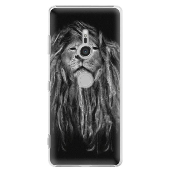 Plastové puzdro iSaprio - Smoke 01 - Sony Xperia XZ3